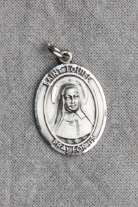 St. Louise de Marillac Medal (Pewter)