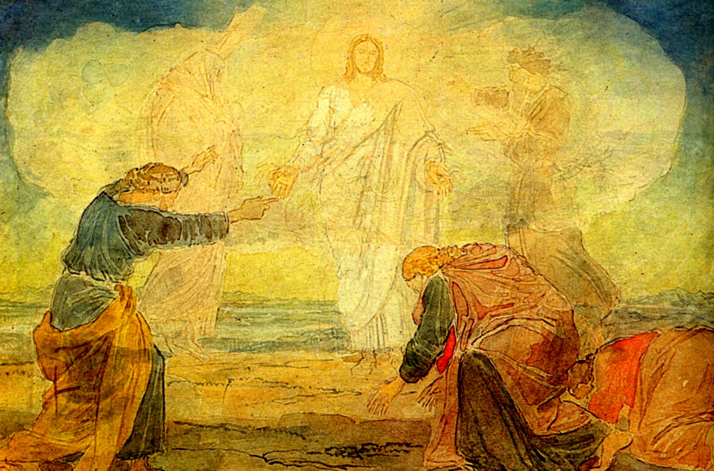 Transfiguration by Alexander Andreyevich Ivanov