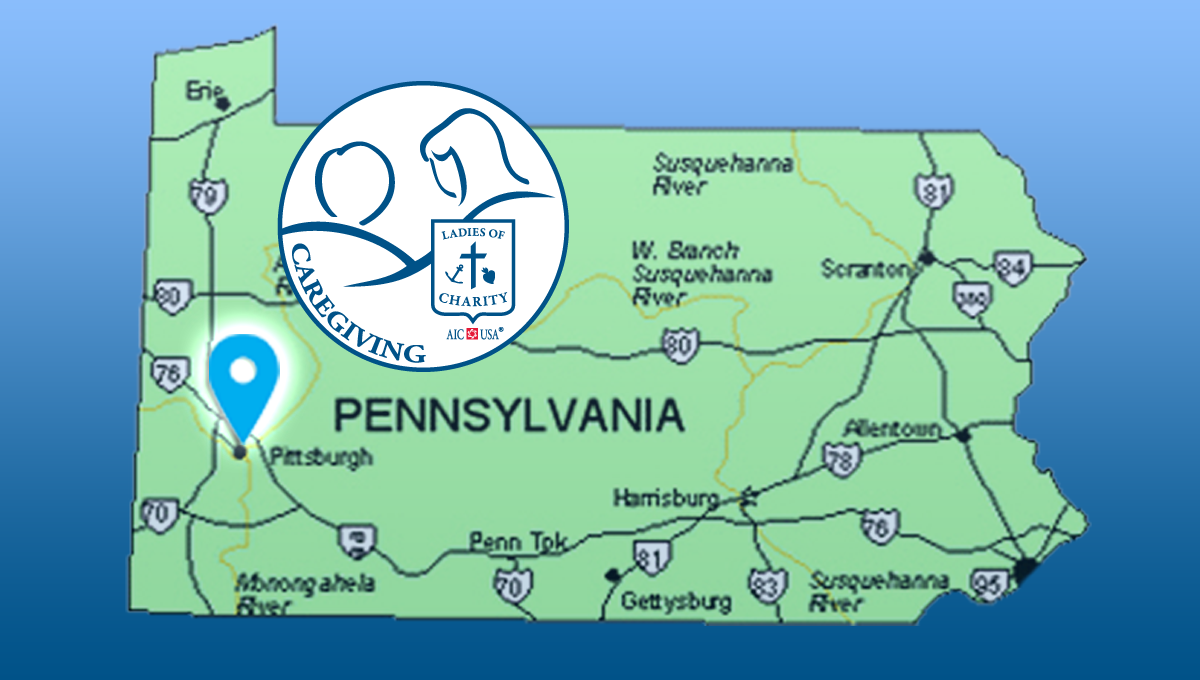 Us Map Pittsburgh Pa Ladies of Charity Caregiving, Inc. Looking for Administrator for
